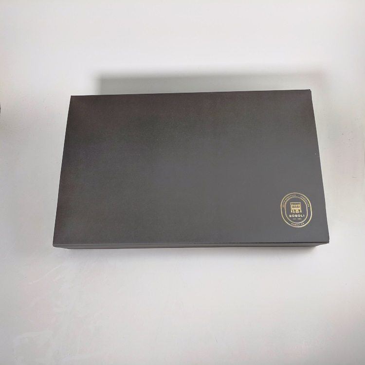 Boboli Folding Gift Box with Gold Hotstamp Logo