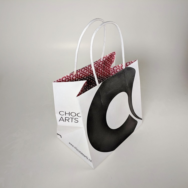 Chocolate Arts Small Shopper