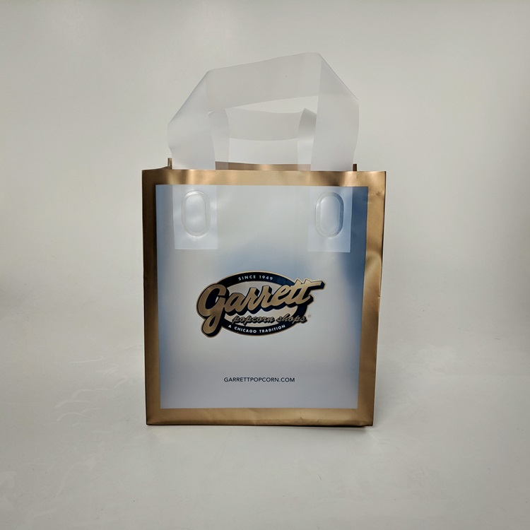 Garrett Popcorn HDPE Small Shoppers