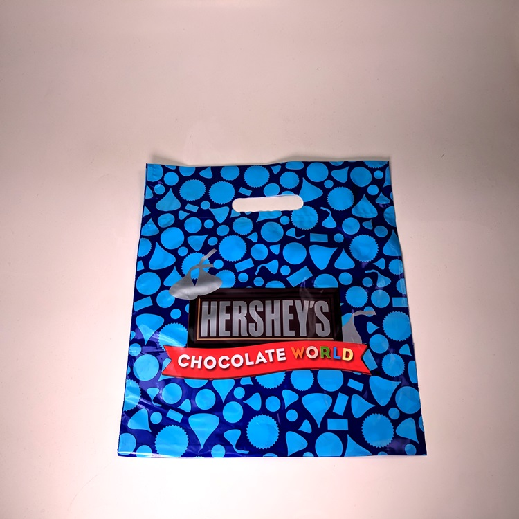 Hershey Fold Over Die Cut Poly Bag