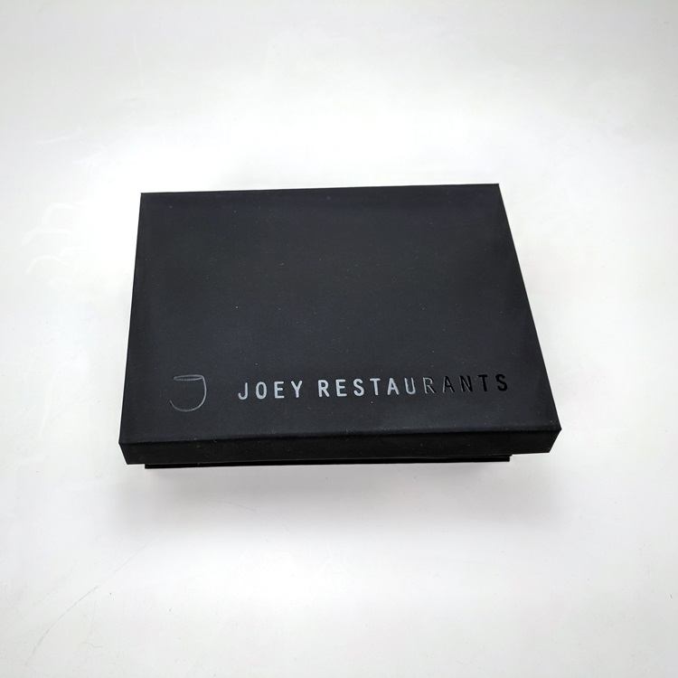 Joey Marketing Gift Box with Magnetic Closure Open View