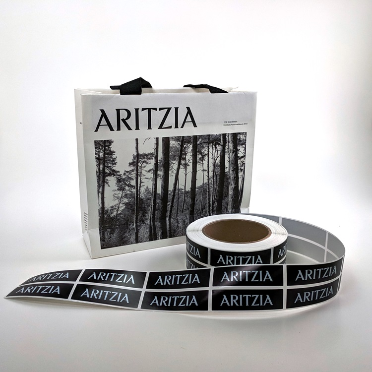 Aritzia Retail Mini Shopper and Sticker Labels