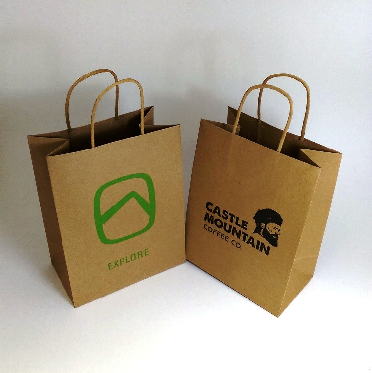 Assorted Paper Shoppers Bags