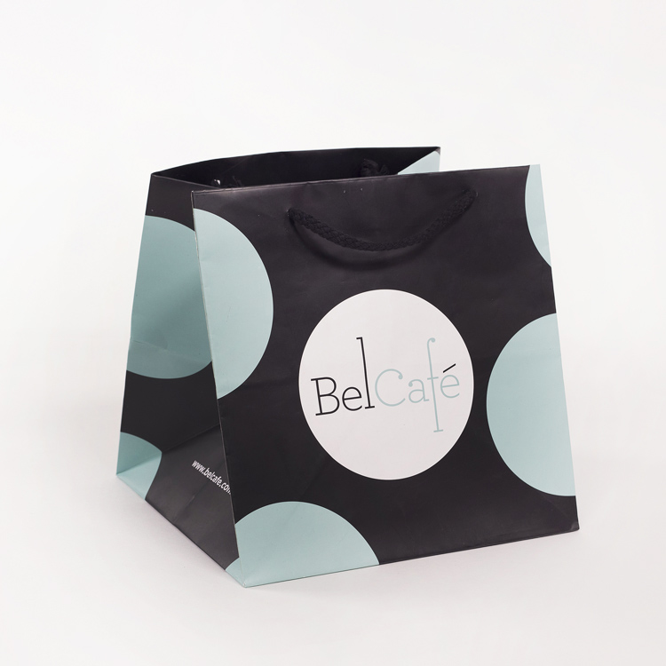 Bel Cafe Paper Shoppers Bag