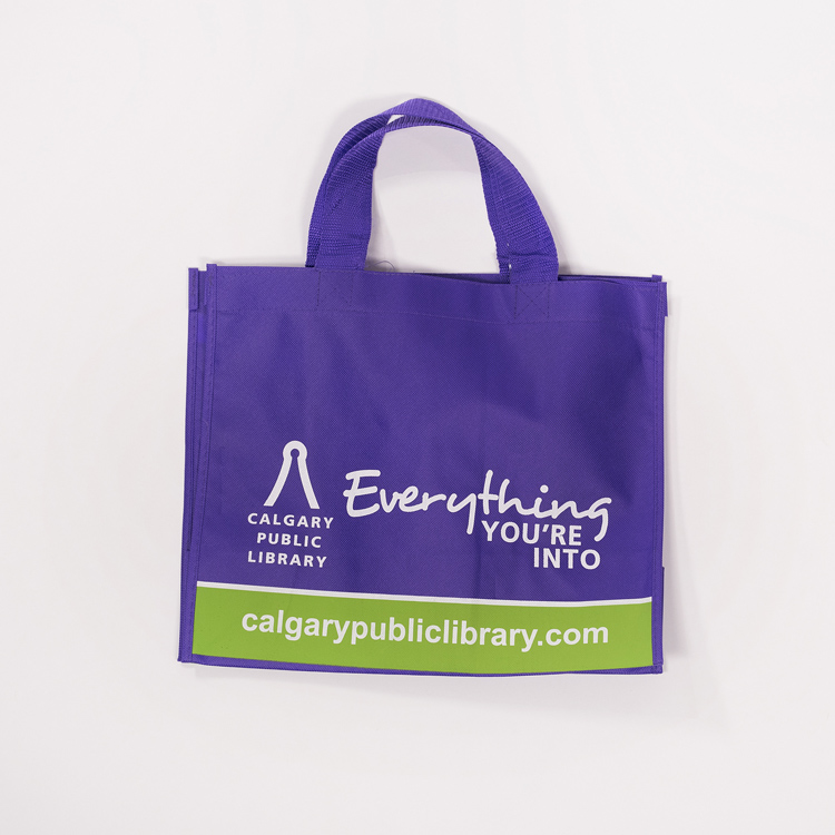 Calgary Public Library Reusable Bag