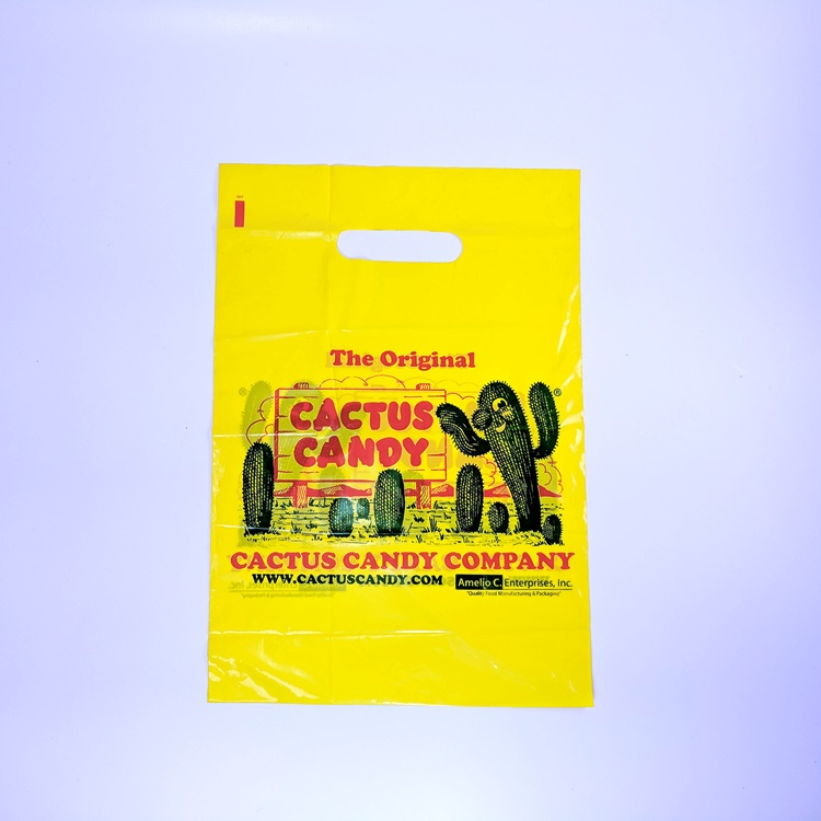 Cactus Candy LDPE Die Cut Bag