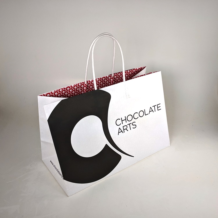 Chocolate Arts Large Shopper