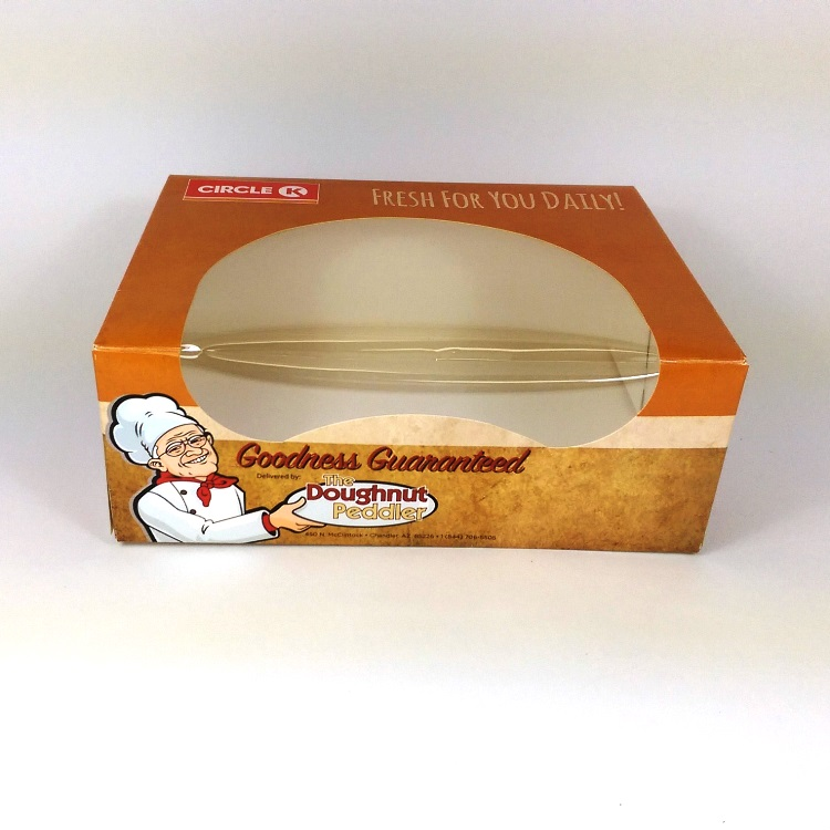 Circle K Doughnut Peddler Bakery Box with Window
