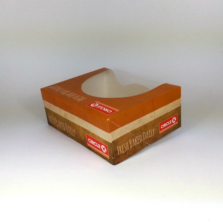Donut Peddler Folding Box