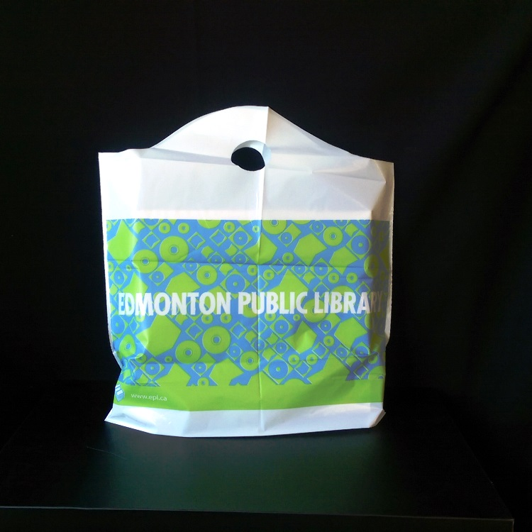 Edmonton Public Library Poly Bag