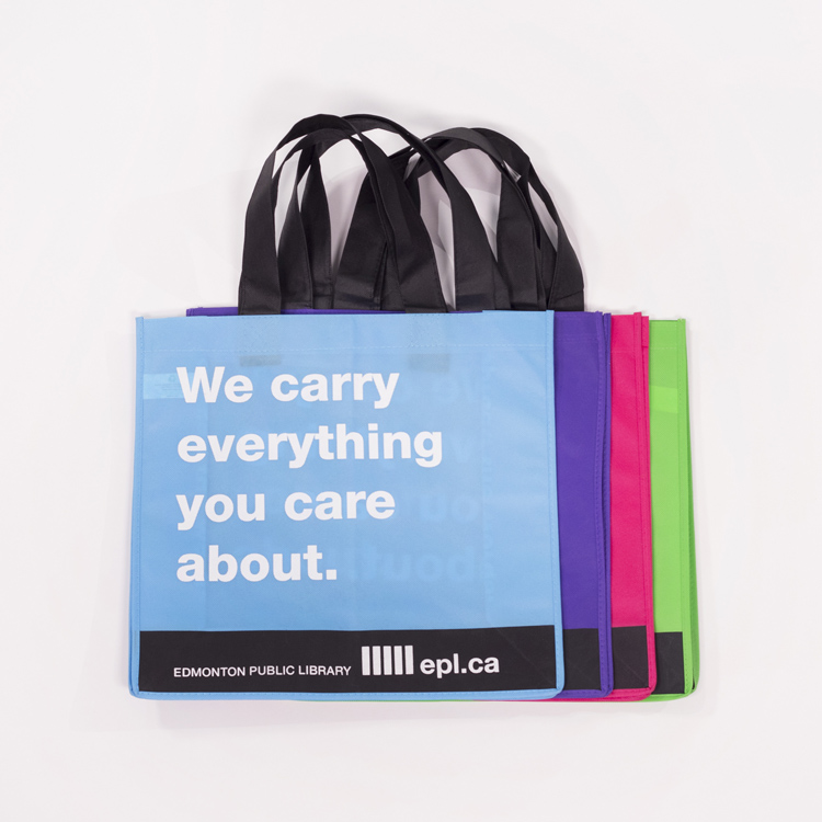 Edmonton Library Reusable Bags