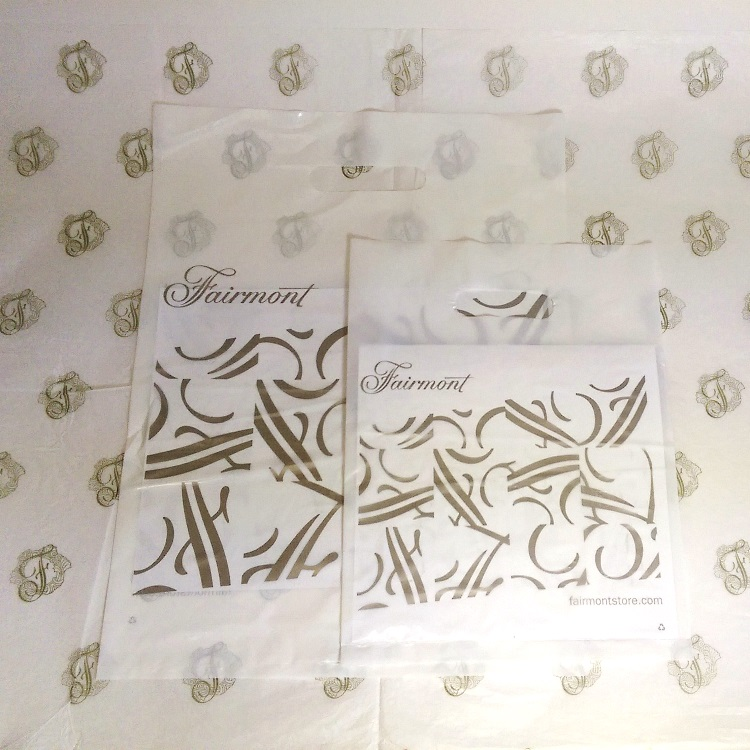 Fairmont Die Cut Poly Bags