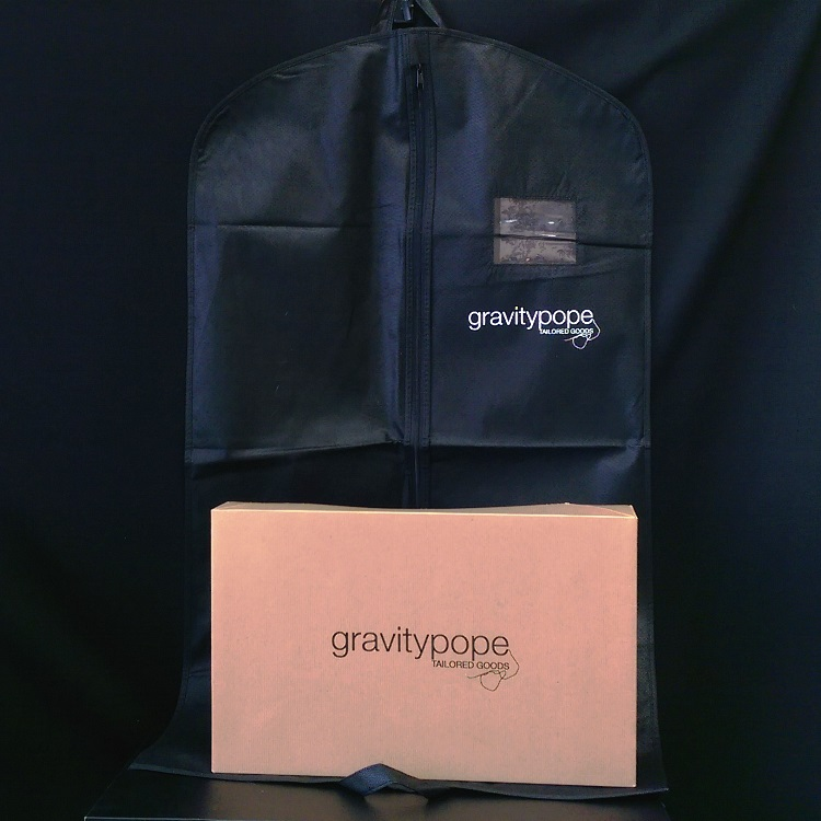 Gravity Pope Folding Gift Box and Garment Bag