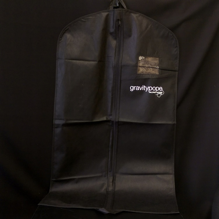 Gravity Pop Non Woven Garment Bag with Window