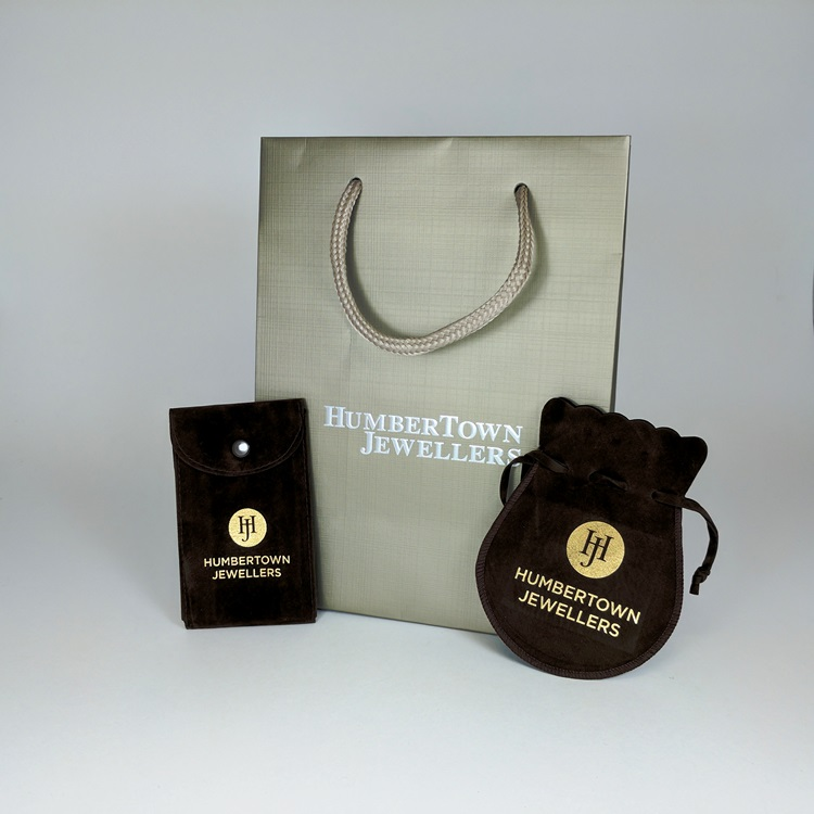 Humbertown Jewellers Velvet Pouches and Shopper