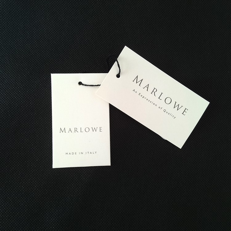 Marlowe Clothing Hangtag and Button Envelope