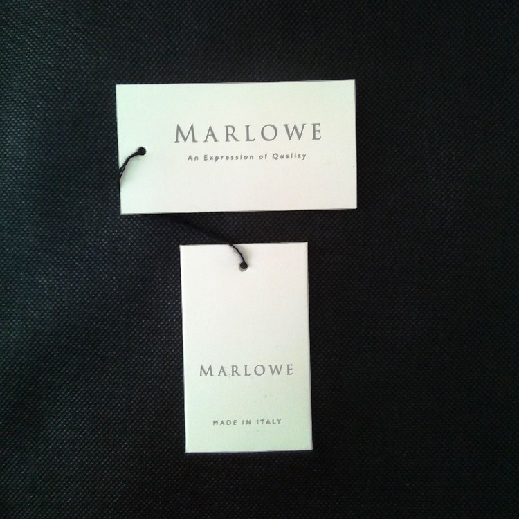 Marlowe Clothing Hangtags