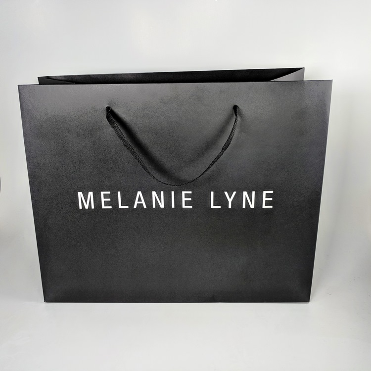 Melanie Lyne Shopper with Paper Rope Handle (Fully Compostable, Eco Friendly)