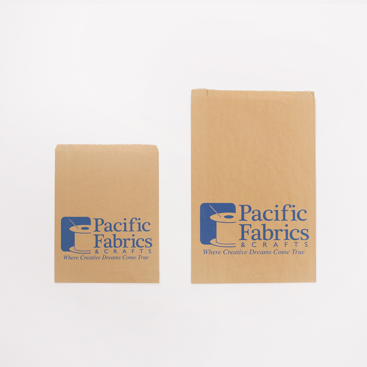 Pacific Fabrics Paper Notion Bags