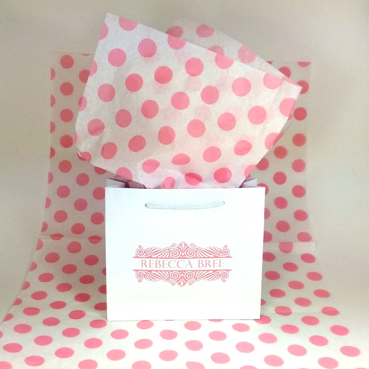 Rebecca Bree Paper Shoppers Bag and Tissue
