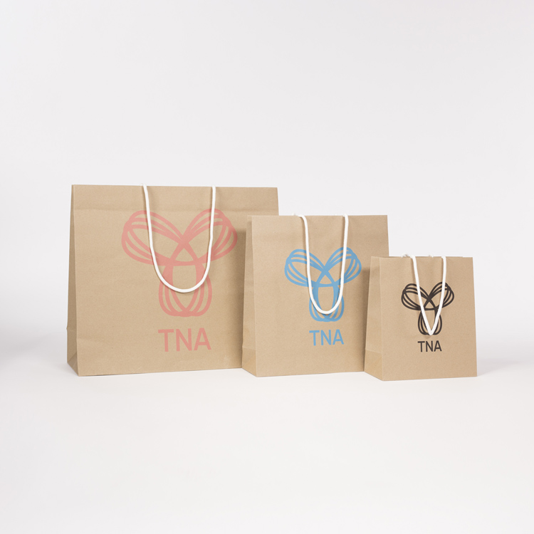 TNA Paper Shoppers Bags